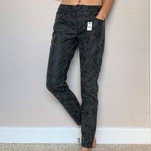 Express Faux Suede Skinny Pants 6